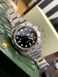 Швейцарские часы Rolex Explorer II 42mm Steel 216570 Black