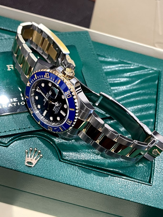 Submariner Date 41 mm Steel and Yellow Gold 126613lb-0002 #3