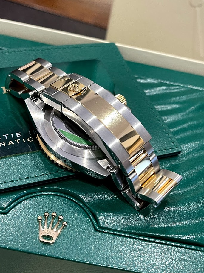 Submariner Date 41 mm Steel and Yellow Gold 126613lb-0002 #4