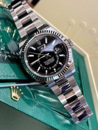 Швейцарские часы Rolex Sky-Dweller 42 mm, steel and white gold 326934-0005