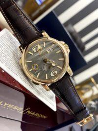 Швейцарские часы Ulysse Nardin Dual Time 42 mm 246-55