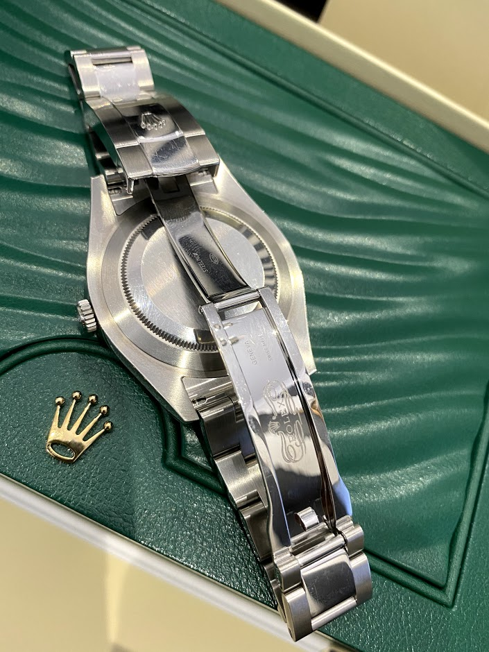 Datejust II 41mm Steel and White Gold 116334 White #2