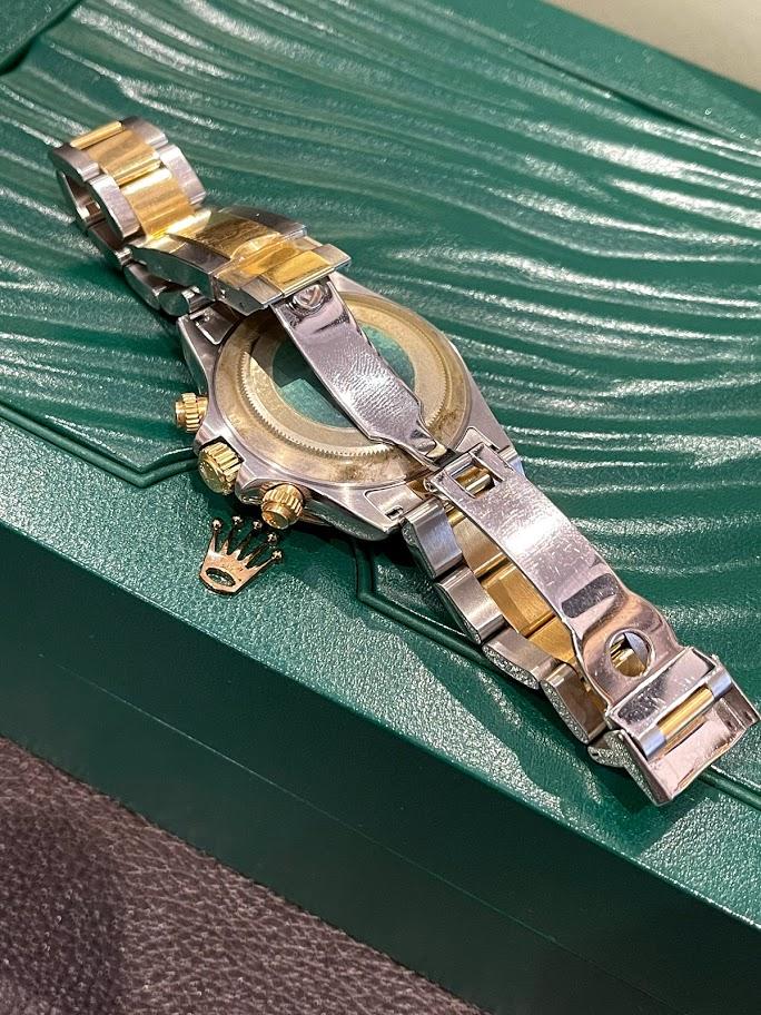 Daytona Cosmograph 40mm Steel and Yellow Gold 116523 #2