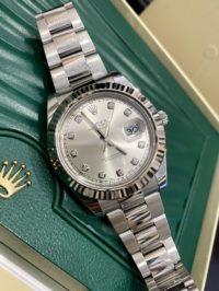 Швейцарские часы Rolex Datejust II 41mm Steel and White Gold 116334-0007