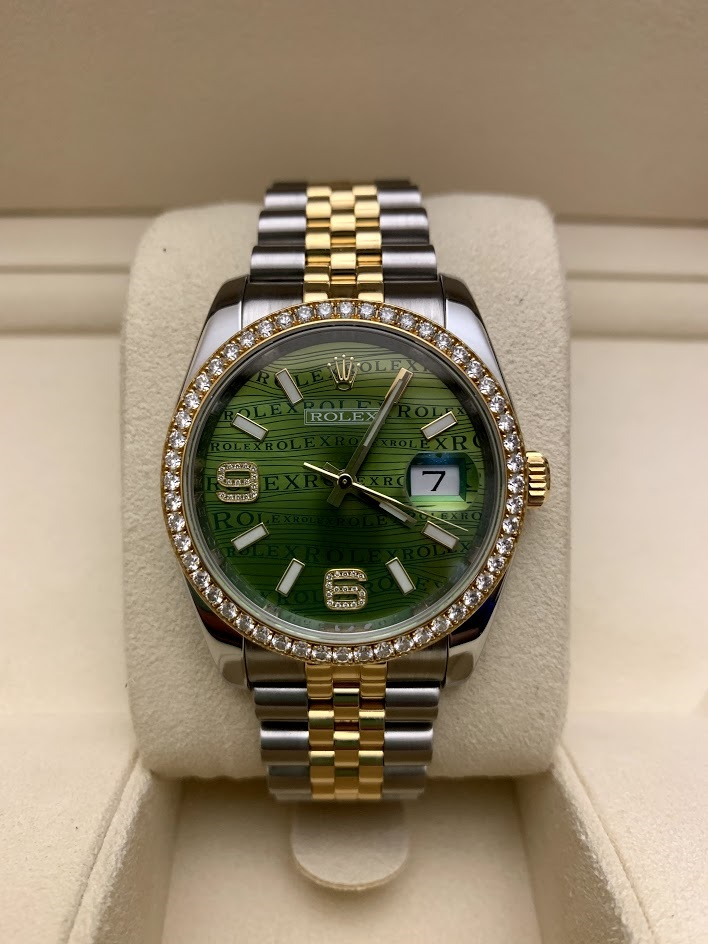 Datejust 36mm Steel and Yellow Gold 116243 #2