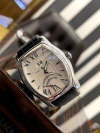 Швейцарские часы Maurice Lacroix Masterpiece Jours Rétrogrades Tonneau Herrenuhr MP6119-SS001-11E