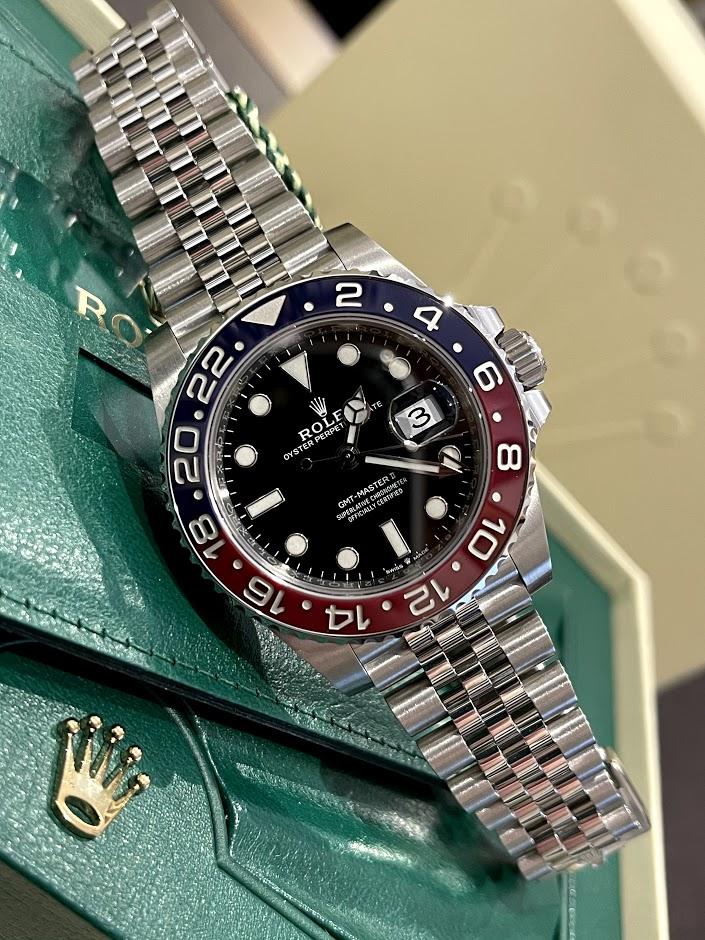 GMT-Master II 40mm Steel 126710BLRO-0001 #1