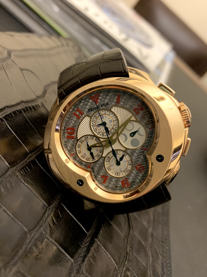 Complication Chronograph Master Grand Sport FVa9 #1