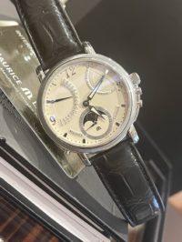 Швейцарские часы Maurice Lacroix Masterpiecе Lune Retrograde MP7078-SS001-120