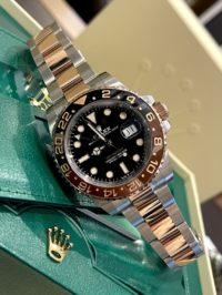 Швейцарские часы Rolex GMT-Master II 40 mm, Oystersteel and Everose gold 126711CHNR-0002