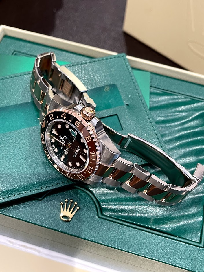 GMT-Master II 40 mm, Oystersteel and Everose gold 126711CHNR-0002 #3