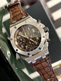 Швейцарские часы Audemars Piguet ROYAL OAK OFFSHORE  CHRONOGRAPH 42MM 26470ST.OO.A820CR.01