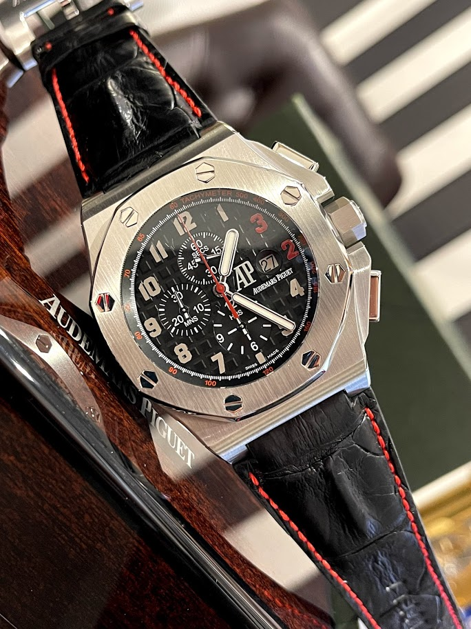 Royal Oak Offshore  Shaquille O`Neal Chronograph 26133ST.OO.A101CR.01 #1