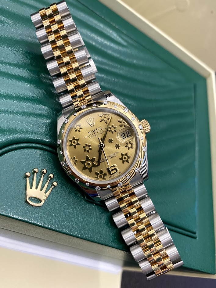 Datejust 31mm Steel and Yellow Gold 178343 #1