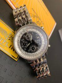 Швейцарские часы Breitling Montbrillant Olympus Navitimer Moonphase Perpetual A19350