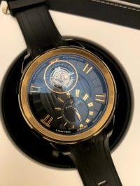 Швейцарские часы Perrelet Turbine Limited Editions Tourbillon Black Gold A3035/1
