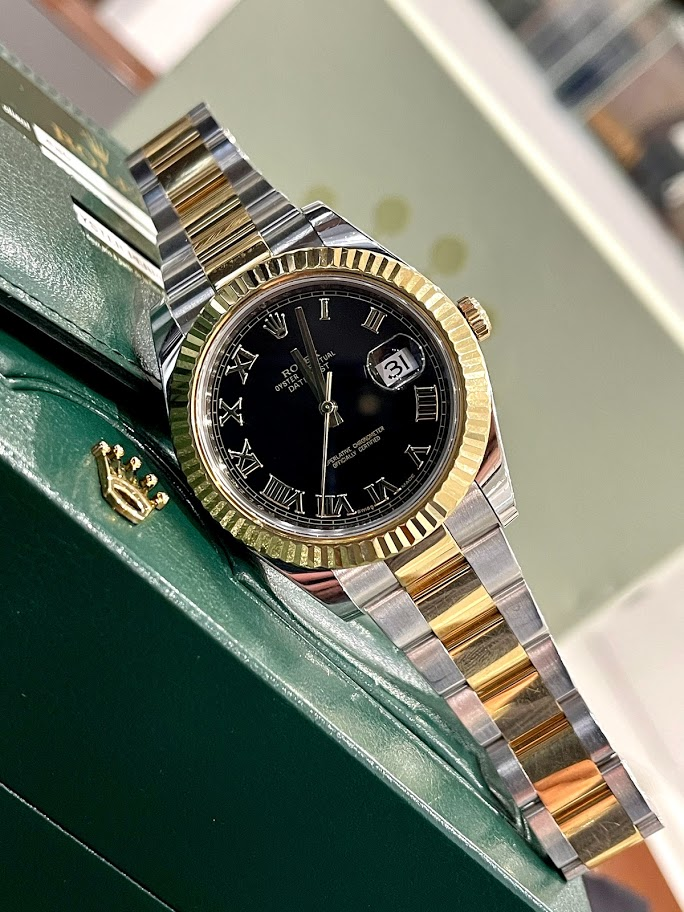 Datejust II 41mm Steel and Yellow Gold 116333 bkro #1