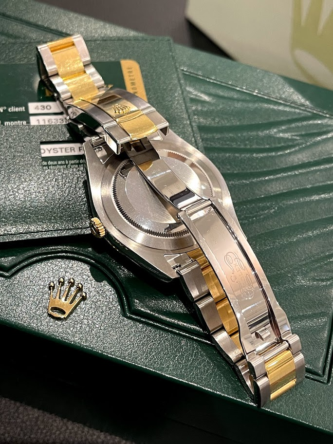 Datejust II 41mm Steel and Yellow Gold 116333 bkro #2