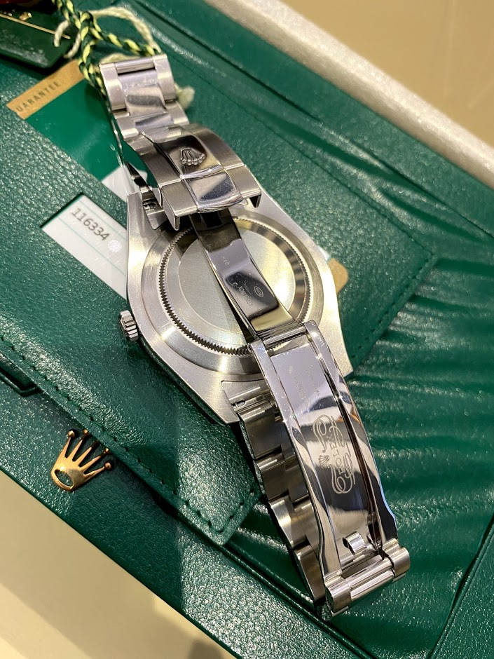 Oyster Datejust II 41mm Steel and White Gold 116334 bkrio #2
