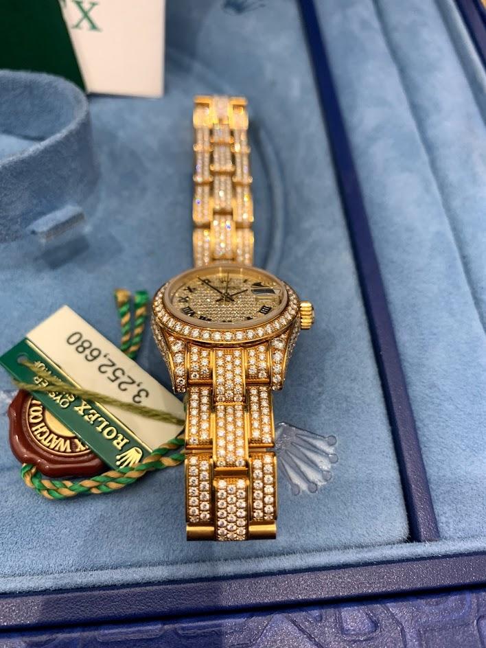 Datejust Diamond Set Gold 26mm 179458 #2