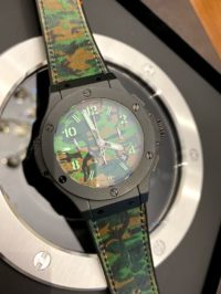 Швейцарские часы Hublot Big Bang 44 MM Commando Bang Green Limited 301.CI.8610.NR