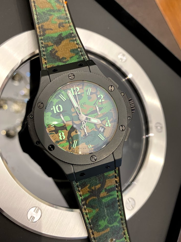 Big Bang 44 MM Commando Bang Green Limited 301.CI.8610.NR #1