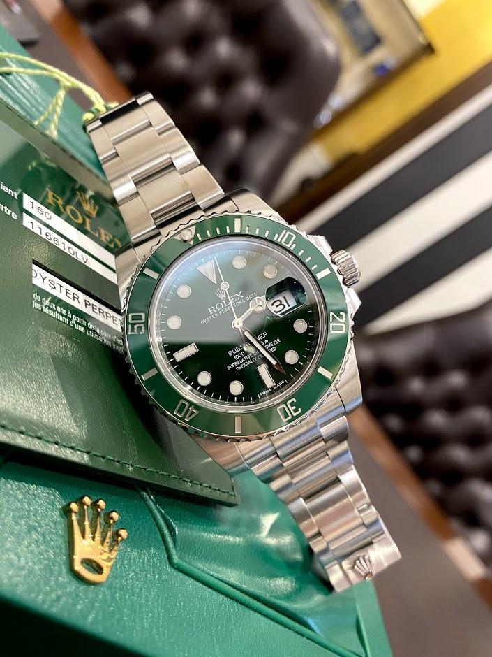 Submariner Date 40mm Steel Ceramic 116610lv #1