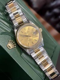 Швейцарские часы Rolex Oyster Perpetual Date 15223