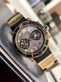 Швейцарские часы Ulysse Nardin Marine Maxi Diver Chronograph 8006-102-3A/92