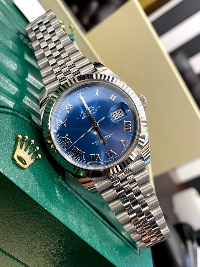 Datejust 41mm Steel and White Gold 126334-0026 #1