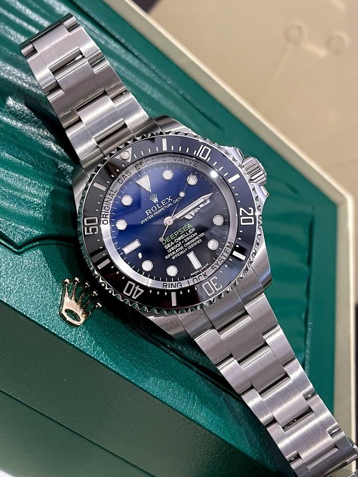 Deepsea 44mm Steel 116660 D-Blue #1
