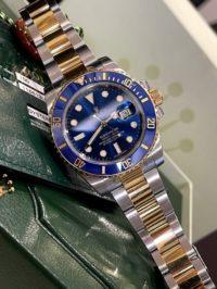 Швейцарские часы Rolex Submariner DATE 40MM STEEL AND YELLOW GOLD CERAMIC 116613LB