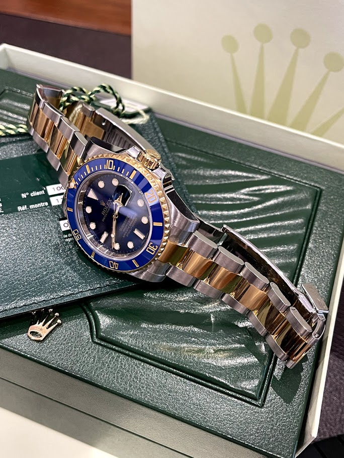 Submariner DATE 40MM STEEL AND YELLOW GOLD CERAMIC 116613LB #3