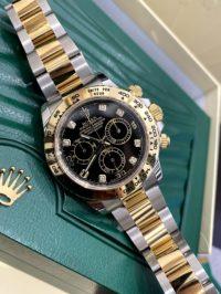 Швейцарские часы Rolex Daytona Cosmograph 40mm Steel and Yellow Gold 116503-0008