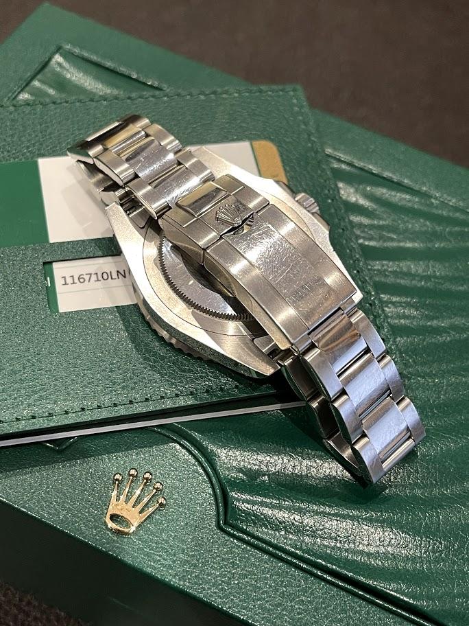 GMT-Master II 40mm Steel 116710LN #5