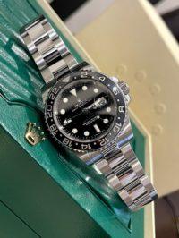 Швейцарские часы Rolex GMT-Master II 40mm Steel 116710LN