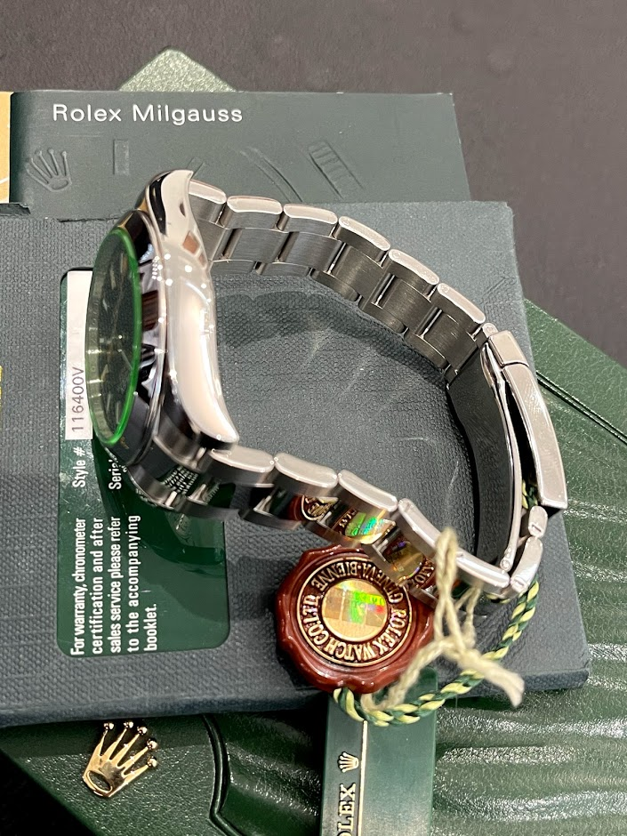 Milgauss 40mm Steel 116400GV #5