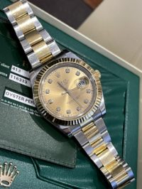 Швейцарские часы Rolex Datejust II 41mm Steel and Yellow Gold 116333