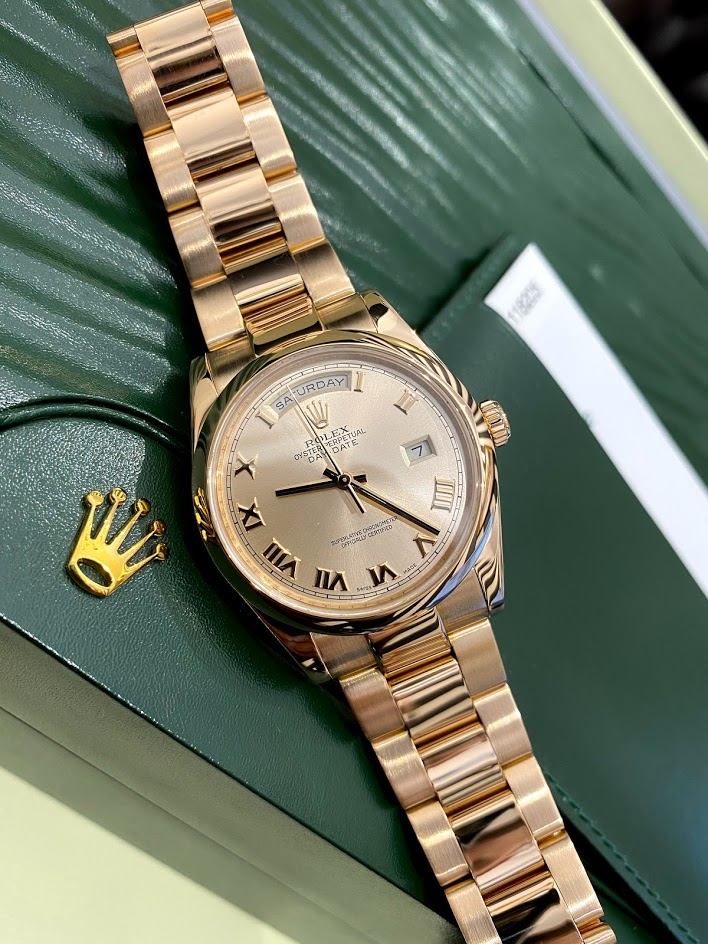 Day-Date 36 mm 118205f-0063 #1