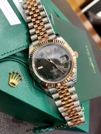 Швейцарские часы Rolex Datejust 41 mm, Oystersteel and Everose gold 126331-0016