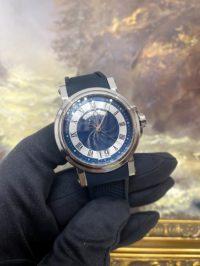 Швейцарские часы Breguet Marine. 5817 Big Date 5817ST/Y2/5V8