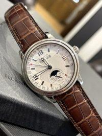 Швейцарские часы Blancpain Léman Moon Phase Complete Calendar 38mm 2763-1542A-53