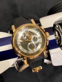Швейцарские часы Breguet Marine. 5837 Tourbillon Chronograph 5837BR/92/5ZU
