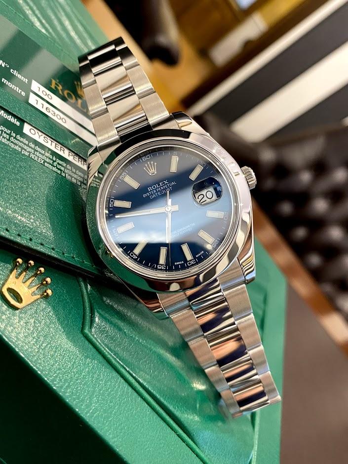Datejust II 41 steel 116300 #1