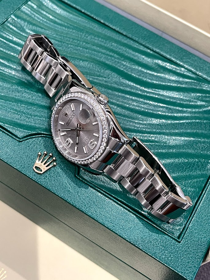 Datejust 36mm steel, white gold and diamonds 116244-0038 #3