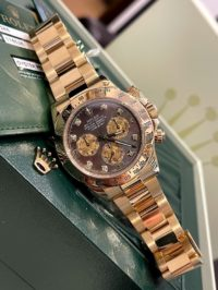 Швейцарские часы Rolex Daytona 40mm Yellow Gold 116528