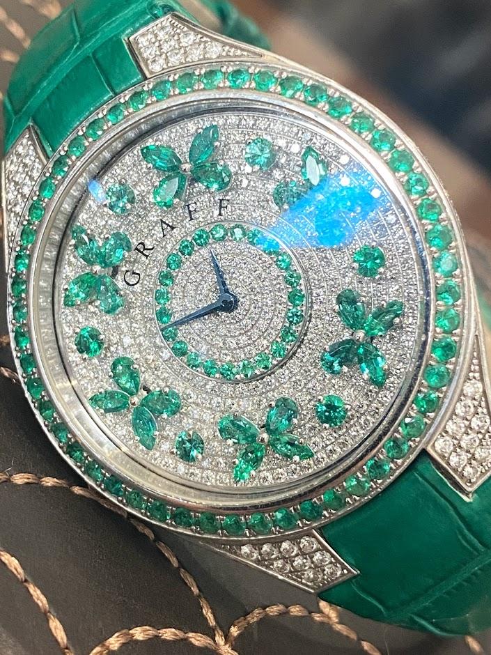 Disco Butterfly  Emerald FBF38WGED #2