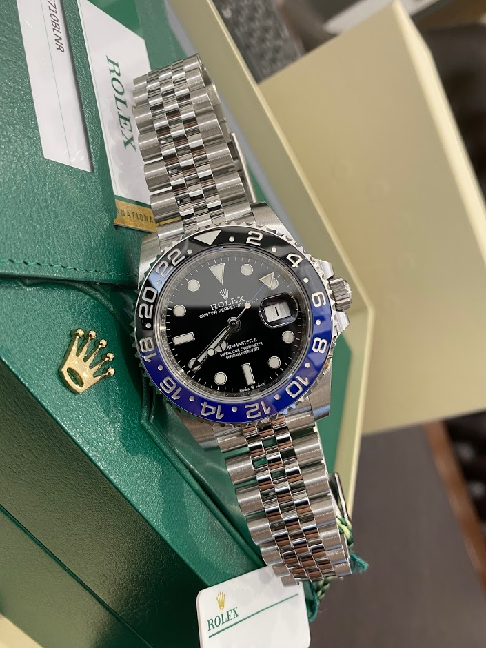 GMT-Master II 40mm Steel 126710BLNR-0002 #1