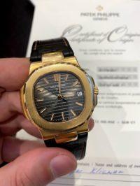 Швейцарские часы Patek Philippe Nautilus  5711R-001