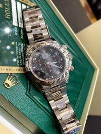 Швейцарские часы Rolex Daytona Cosmograph 40mm White Gold 116509 Black